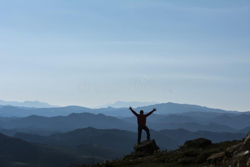 mountaineer imagen de archivo libre de regalías