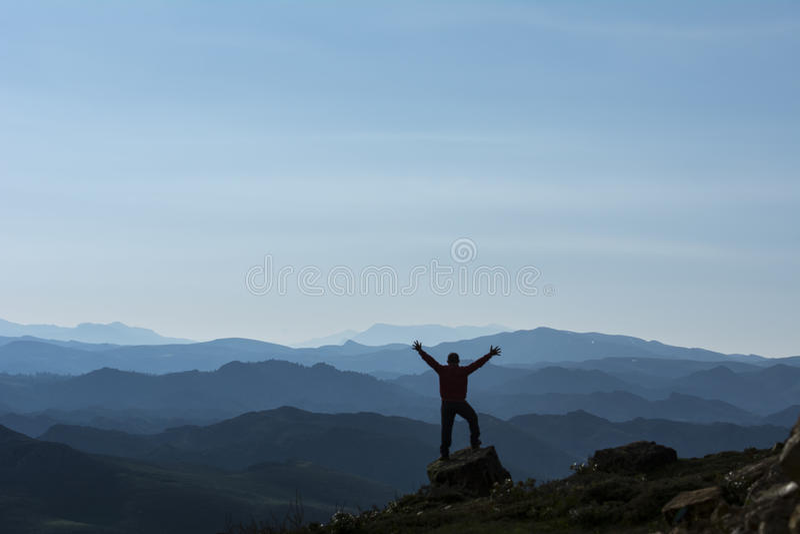 mountaineer royalty free stock image