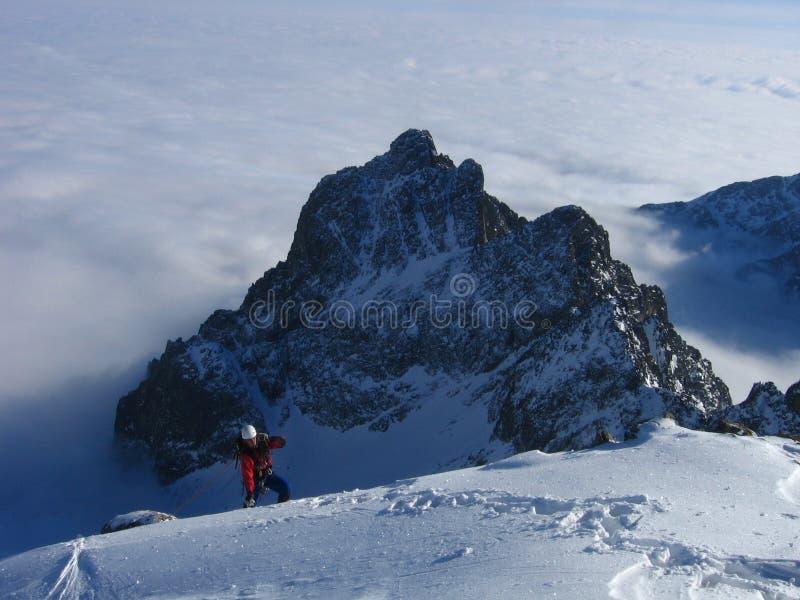 Mountaineering stock photo