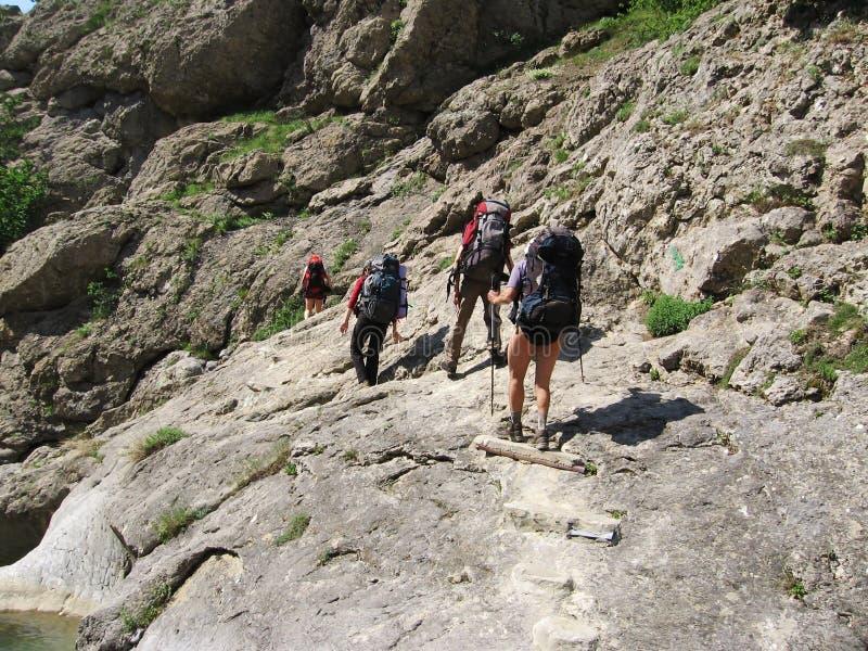 mountaineering 2 стоковые фото