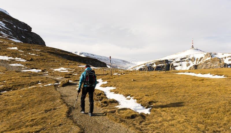 mountaineering fotos de archivo