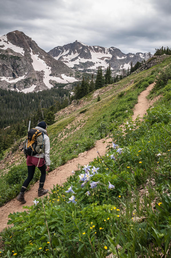 mountaineering fotografie stock libere da diritti