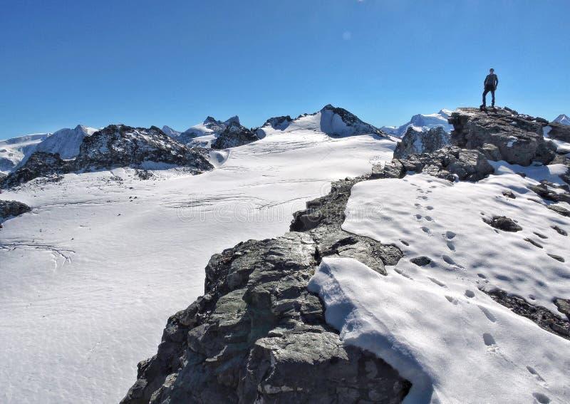 登山家 免版税库存照片