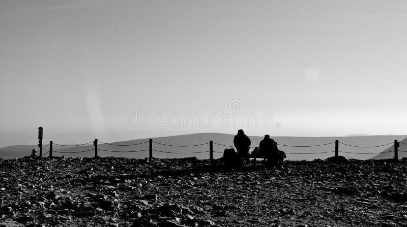 Mountainers photo libre de droits