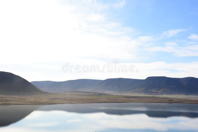Mountainmirror стоковое изображение