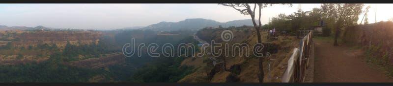 Mountainorama stock afbeeldingen