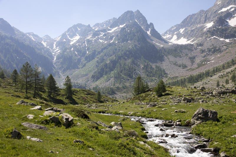 Mountainous Landforms, Mountain, Valley, Mountain Range stock photography
