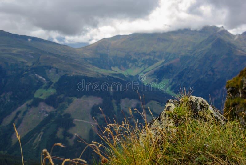Mountainous landscape royalty free stock photos