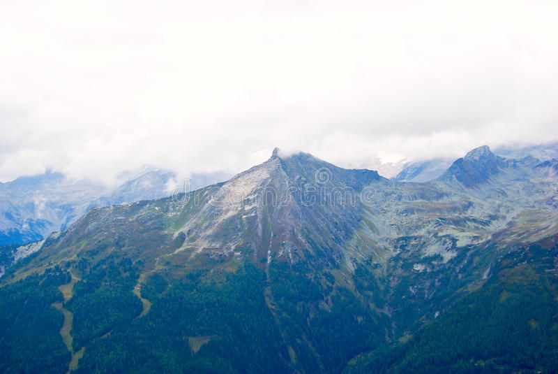 Mountainous landscape stock images