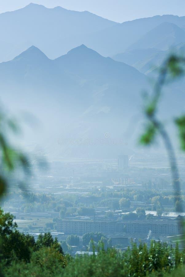 Free Mountainous Tibetan Landscape Royalty Free Stock Images - 4855679