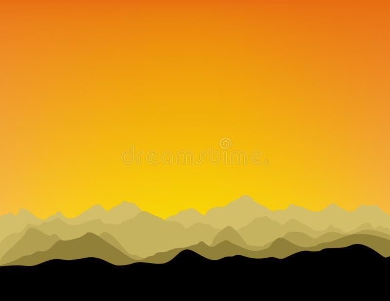 mountainrange 库存照片