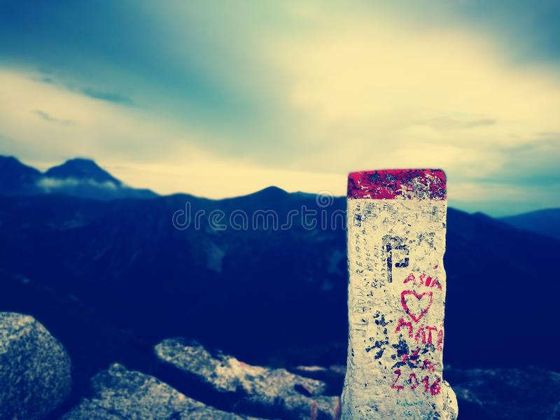 Mountains ƒ royalty-vrije stock afbeelding