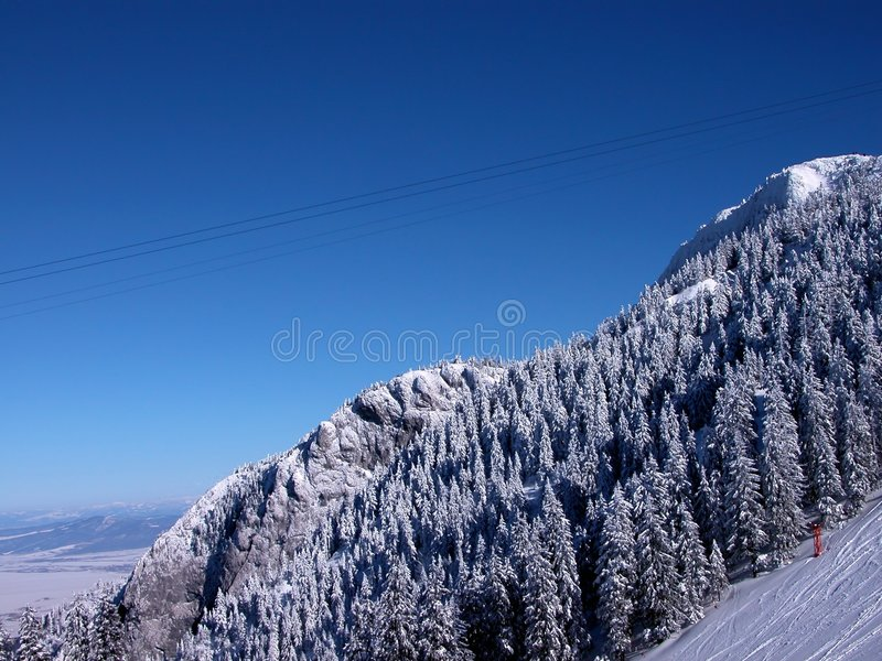 Download Mountains stock image. Image of shade, blue, hang, fire, slopes - 1485