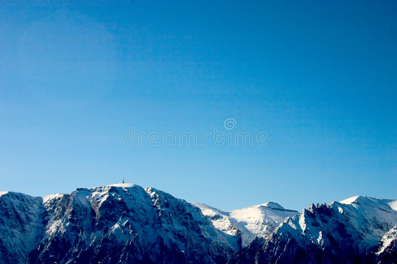 Download Mountains stock image. Image of ridge, freeze, winter, white - 102965