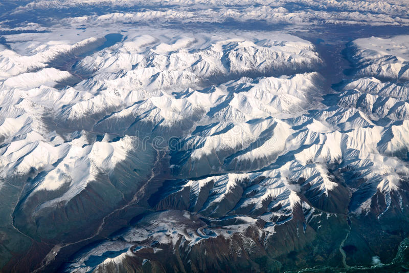 Download Mountains stock image. Image of mountains, plane, snow - 22448077