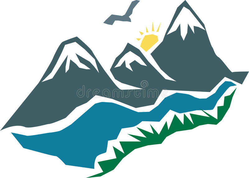 Mountains royalty free stock image