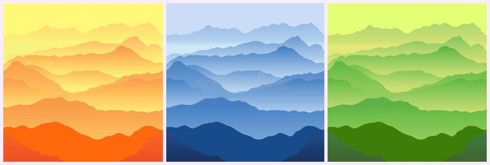 Download Mountains stock vector. Illustration of majestic, rough - 5202857