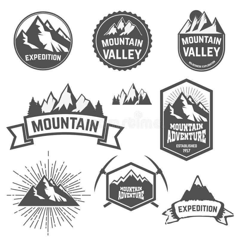 Mountains2 illustrazione di stock