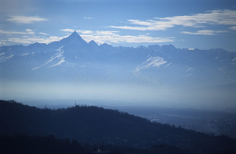 Download Mountains stock photo. Image of smog, lost, clouds, plenitude - 87698
