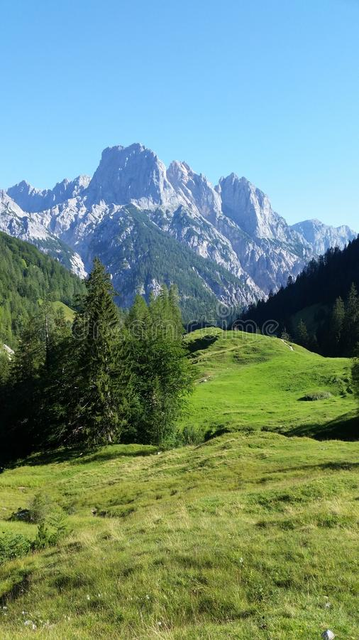 The mountains above the Konigsee, Germany stock photos