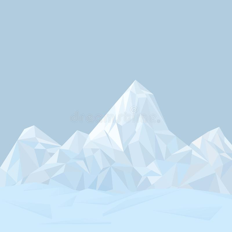 Mountains vector illustration