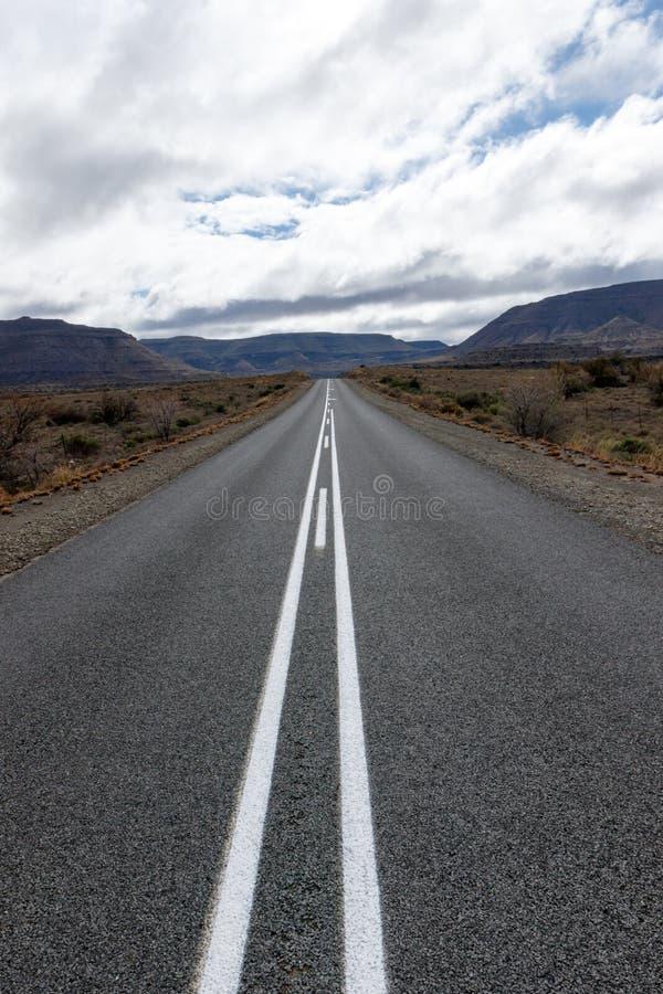 Mountains Ahead - Fraserburg Landscape stock photos