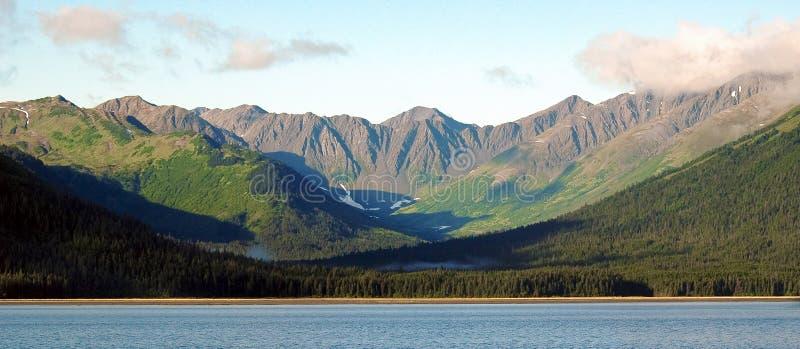 Mountains of Alaska royalty free stock photos