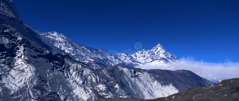 Mountains Alaska royalty free stock photos