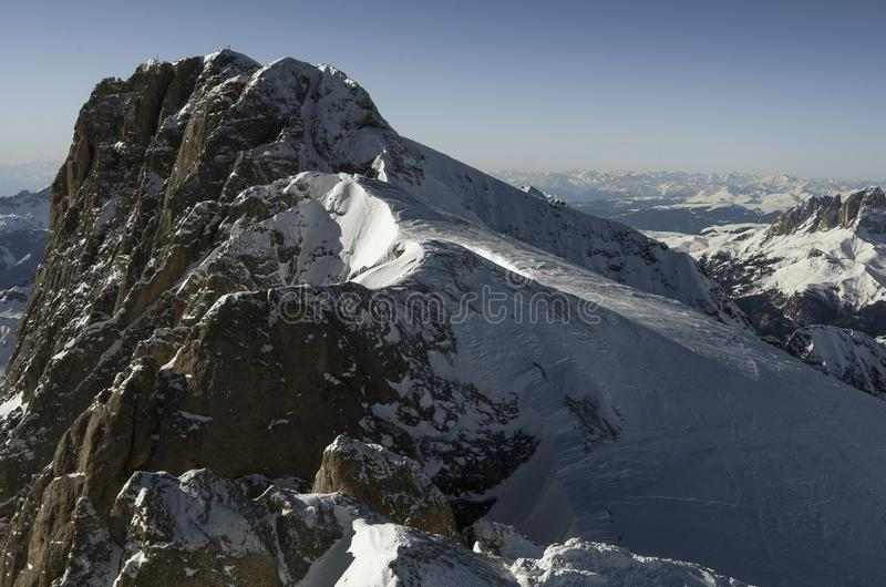 Mountains Alps in Italy stock image