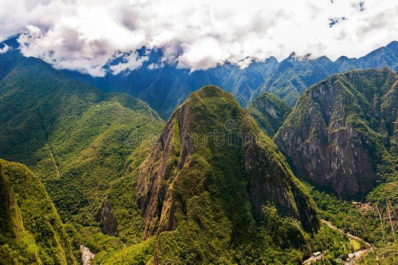 Mountains around Machu Picchu royalty free stock photography
