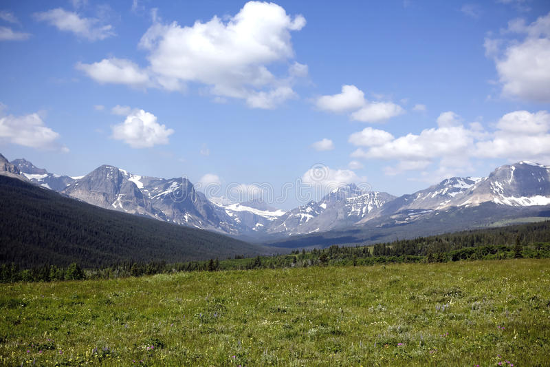 Mountains and blue sky. royalty free stock photos