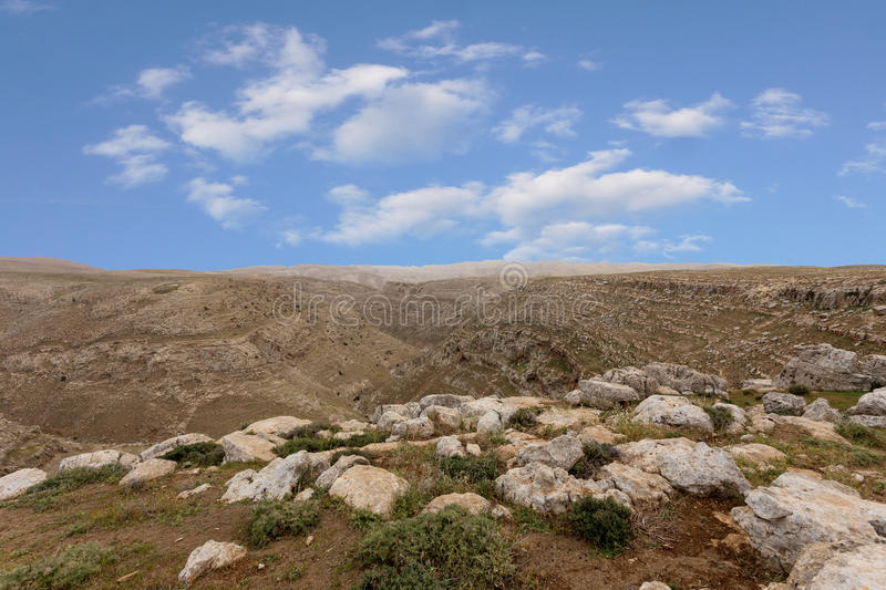 Download Mountains Of The Canyon Negev Desert In Israel Stock Photo - Image: 83708329