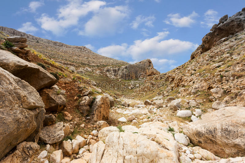 Download Mountains Of The Canyon Negev Desert In Israel Stock Photo - Image: 83709882