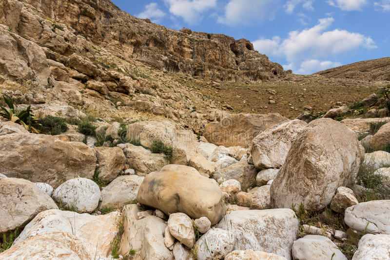 Download Mountains Of The Canyon Negev Desert In Israel Stock Photo - Image: 83709922