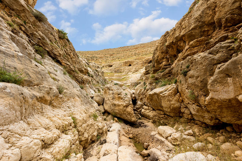 Download Mountains Of The Canyon Negev Desert In Israel Stock Photo - Image of blue, nature: 83710400