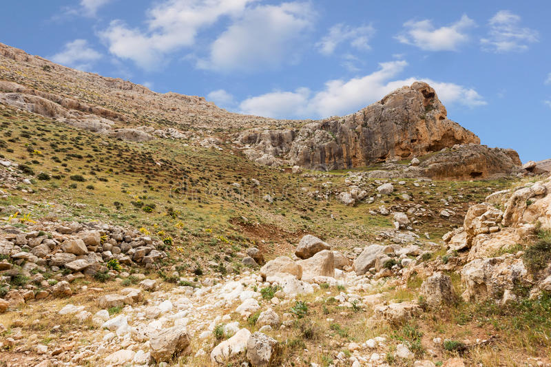 Download Mountains Of The Canyon Negev Desert In Israel Stock Photo - Image: 83710777
