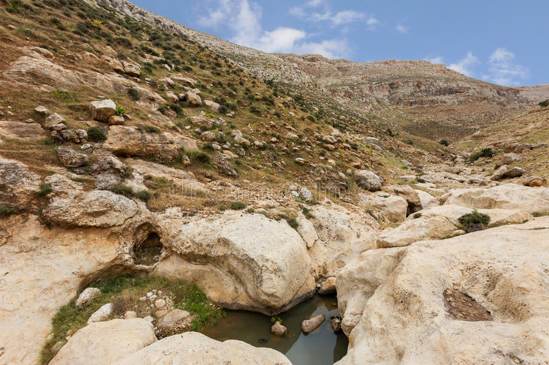 Download Mountains Of The Canyon Negev Desert In Israel Stock Photo - Image: 83711323