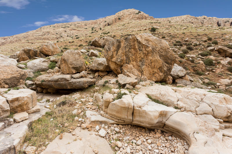 Download Mountains Of The Canyon Negev Desert In Israel Stock Photo - Image: 83712308