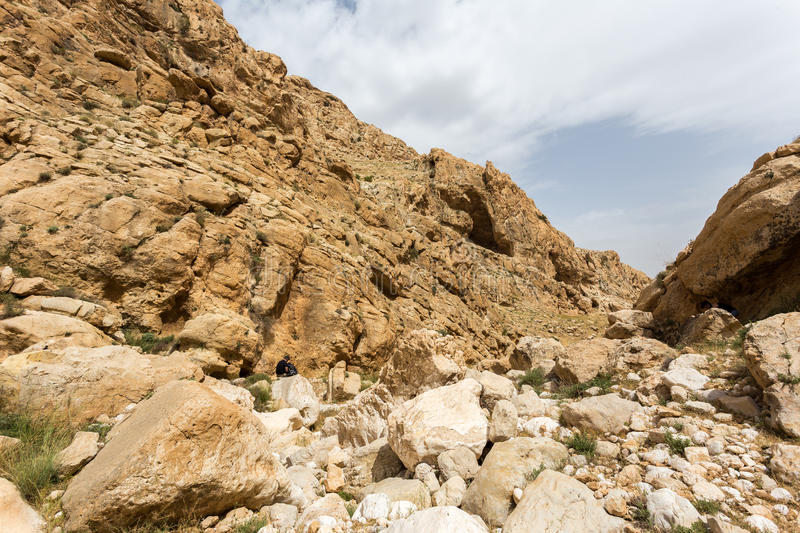 Download Mountains Of The Canyon Negev Desert In Israel Stock Photo - Image: 83713691