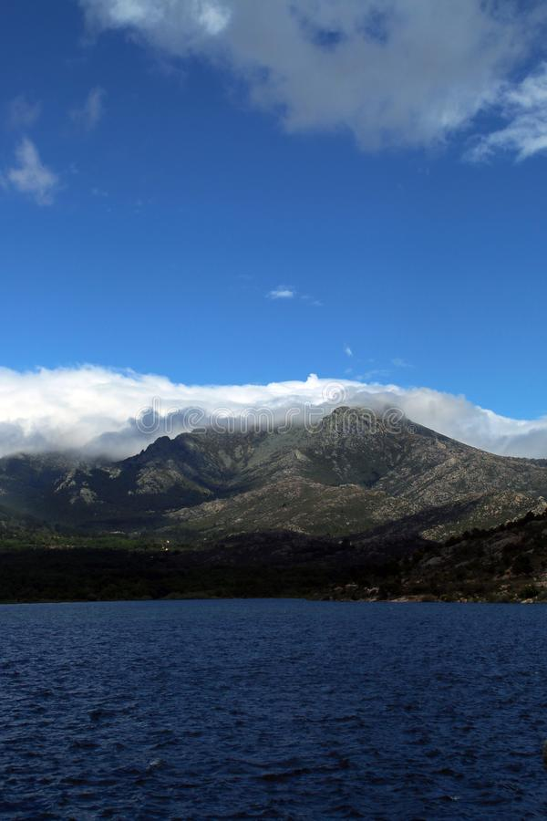 Mountains of the center of the Iberian Peninsula, Spain. royalty free stock photos