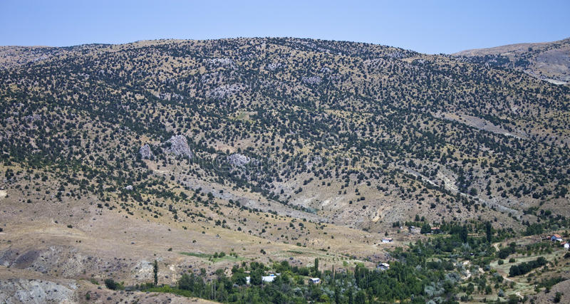Download Mountains In Central Anatolia Stock Image - Image of vacation, summer: 24602167