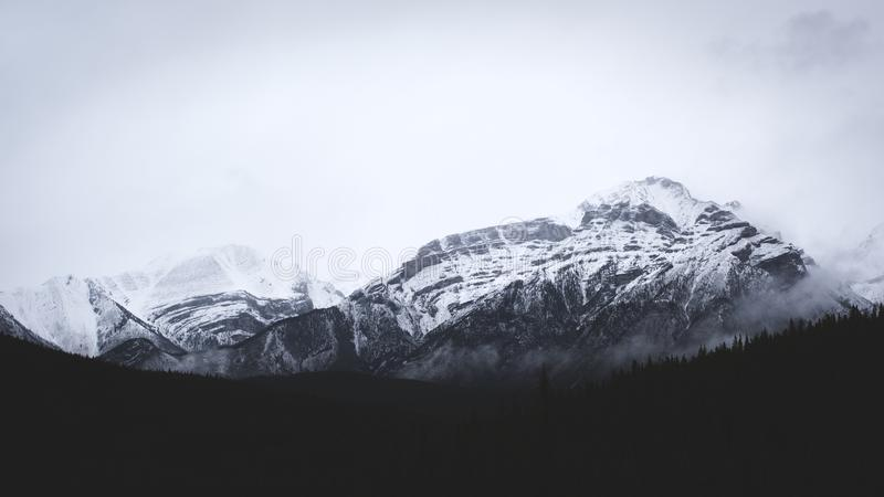 Mountains On A Cloudy Day Free Public Domain Cc0 Image