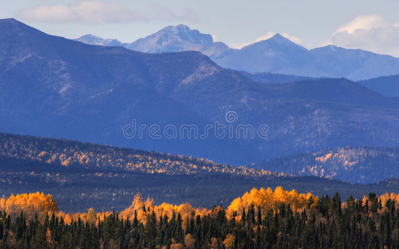 Download Mountains And Colorful Trees Stock Image - Image: 14857835