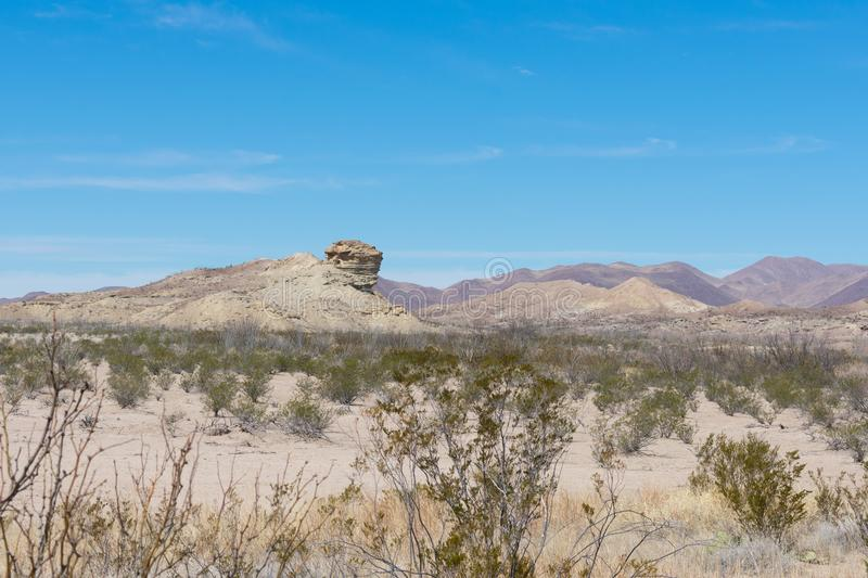Mountains in the desert. High mountains in the desert sunny day royalty free stock photo