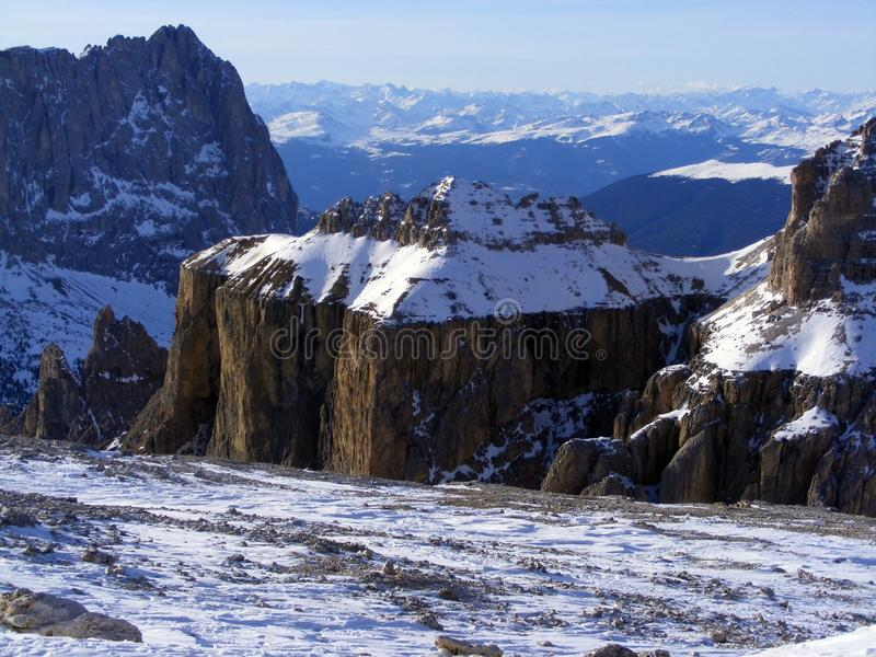 Download Mountains in Dolomites stock photo. Image of hill, rock - 25351612