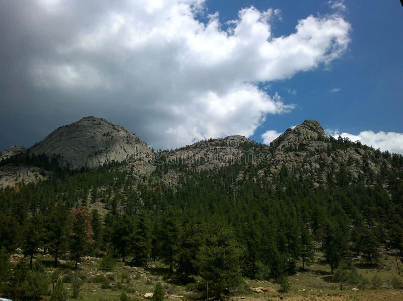 Mountains of Estes Park royalty free stock photos