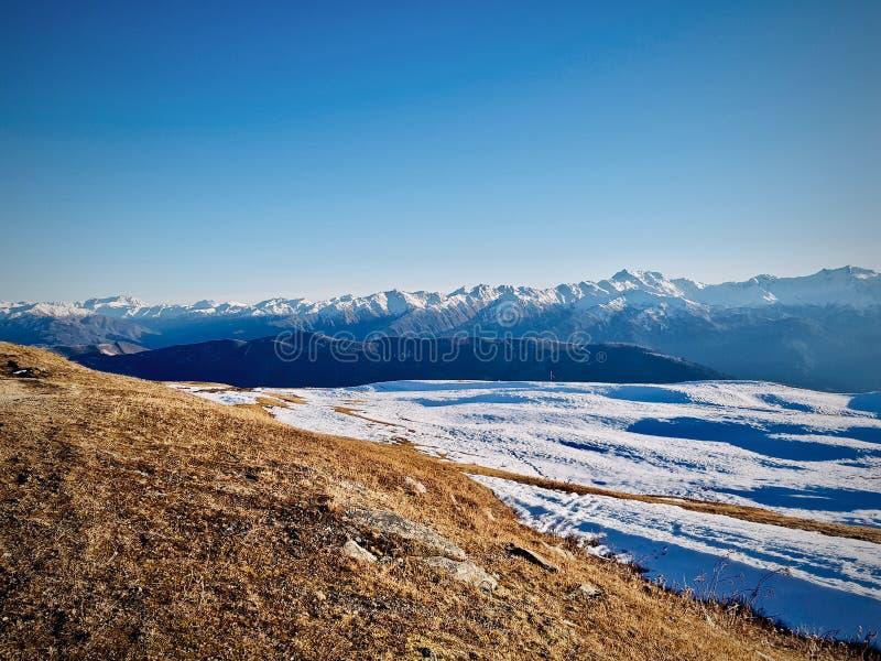 Mountains in Georgia. Tibilisi Mountains stock photography