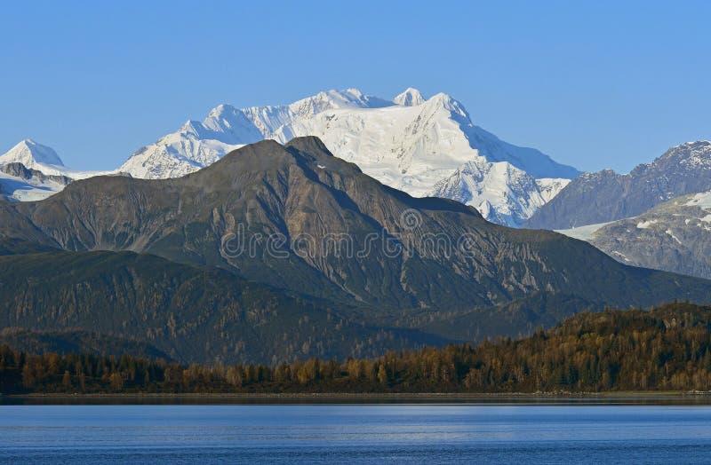 Mountains in Glacier Bay,Alaska,USA royalty free stock image