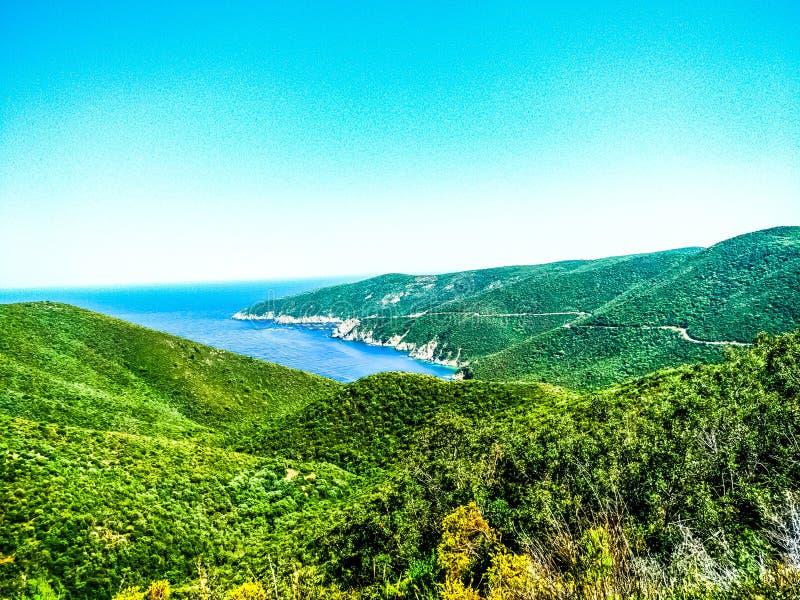 Mountains of Greece royalty free stock photos