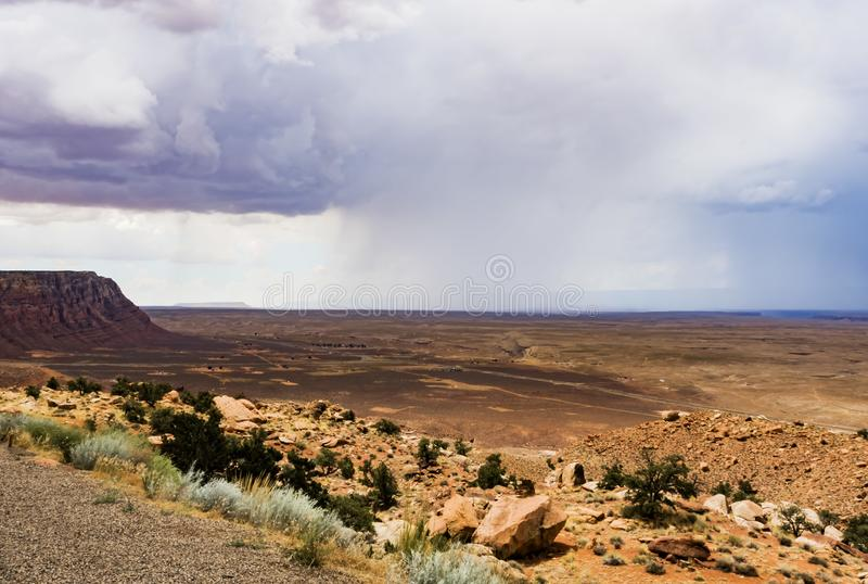 Download Mountains And Isolated Summer Rain Scenic View, Marble Canyon Hwy 89 Stock Photo - Image of bitter, desert: 100152734